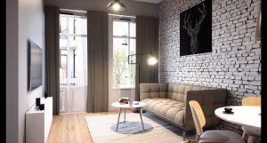 Namų interjeras svetainė