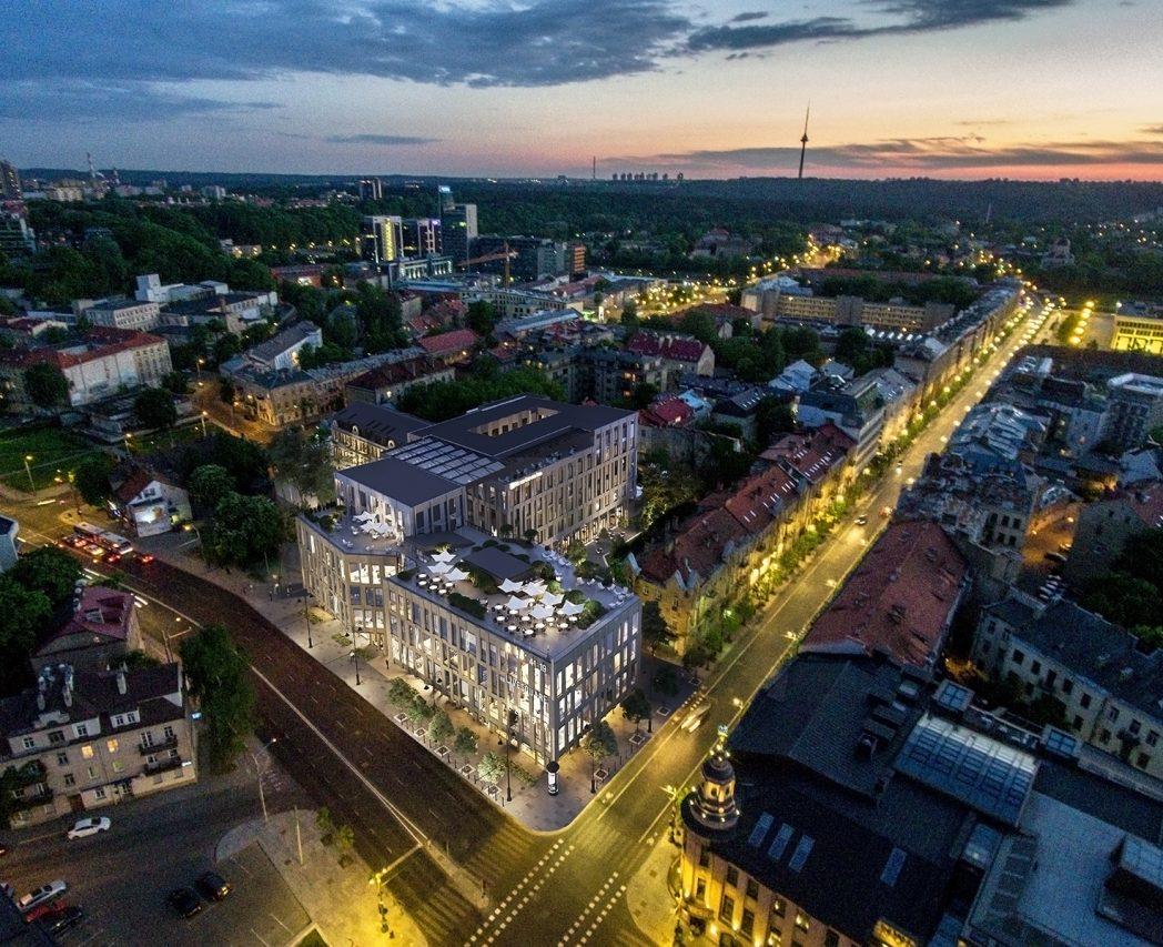 Live Square - verslo centras Vilniaus miesto centre