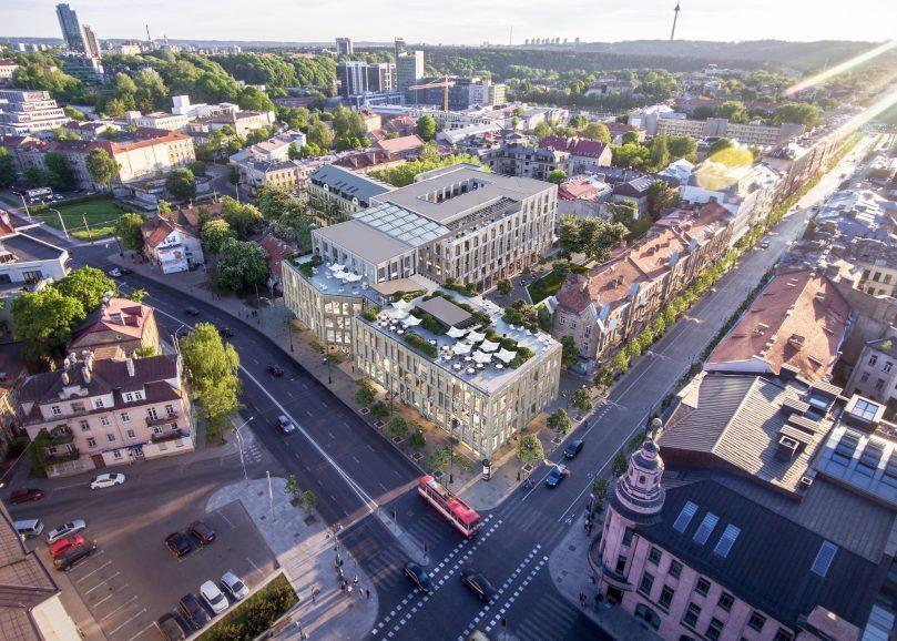 Nauji butai Vilniaus centre